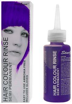 coloration stargazer violet teinture violette cheveux semi permanente pour une coiffure - Coloration Non Permanente