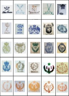 Jewelry Art, Vintage Jewelry, Pottery Marks, Makers Mark, Symbols, Stamp, Texture, Antiques, Creative