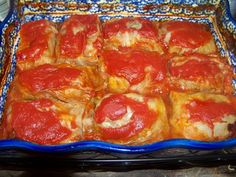 These Cabbage Rolls have been described by many as the best ever! They're so good that even my kids gobble them up! Best of all, they're foolproof! Casserole Recipes, Meat Recipes, Low Carb Recipes, Cooking Recipes, Healthy Recipes, Recipies, Fun Recipes, Healthy Dinners, Cabbage Rolls Recipe