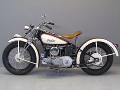 Indian 1941 Model 741 500 cc