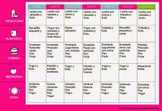 Nutrición y salud: Menú para adelgazar de forma saludable: semana 2