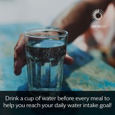Every cell in your body NEEDS water!  Give your body what it needs.  #OPTAVIA30 #choosehealthalways