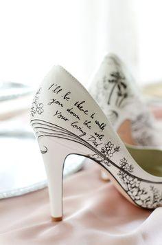 Estos sensacionales zapatos de boda harán que quieras casarte