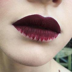'Wicked' Velvetine ❤️ Lip look by /olga_fox/ #limecrime #velvetines