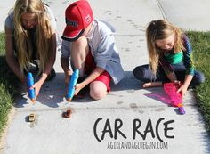 Water Gun Car Race