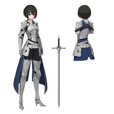Concept Art Characters Inspiration Armors 17 Ideas For 2019 Female Character Design, Character Modeling, Character Design Inspiration, Character Concept, Character Art, Female Armor, Female Knight, Anime Warrior, Warrior Girl