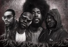 The roots Caricature by Torren , Like his talent then go vote for him for THE ROOTS Art contest at http://www.sketchoholic.com/contests/the-roots-band-art-and-illustration-contest-hosted-by-rui-duarte-sketchoholic-book-pushers-mad-artist-publishing-make-your-book-for-free