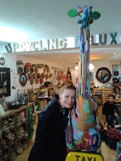 #EnievandeMeiklokjes at the #upcycling deluxe concept store in #berlin www.upcycling-deluxe.com
