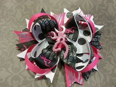 """5"""" Everyone loves a country girl stacked hair bow. 6.50 plus shipping."""