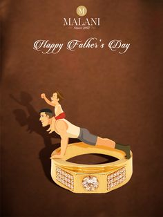 To every girl's first hero and boy's first role model. Let's celebrate your biggest supporter and motivator. Let's celebrate your Father! #HappyFathersDay #MalaniJewelers Jewellery Advertising, Jewelry Ads, Creative Advertising, Jewelery, Girl Photography Poses, Creative Photography, Sharara Designs, Happy Janmashtami, Black Background Wallpaper