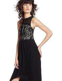 14, Black (Black), Dorothy Perkins Women's Maxi Regular Dresses NEW