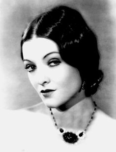 Myrna Loy, c. 1920, an amazing actress and woman. Love the the Thin Man series!