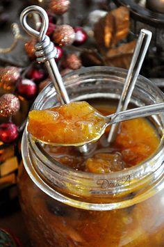 Confiture d'oranges de Noël Orange Jam, Xmas Food, Vegetable Drinks, Food Menu, Brunch, Food And Drink, Cooking Recipes, Homemade, Agar Agar