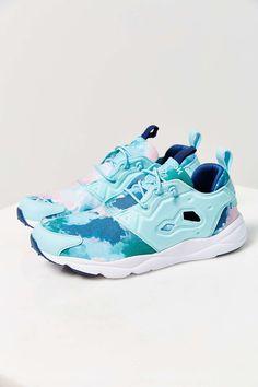 Reebok RuryLite Watercolor Running Sneaker, $75; urbanoutfitters.com   - ELLE.com