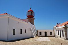 Farol do Cabo de São Vicente en Sagres, Faro