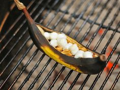 """Grilled Banana Boats with Peanut Butter, Chocolate, and Marshmallows   Serious Eats: Recipes - Mobile Beta!"""""""
