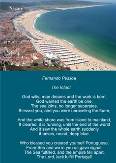 Mensagem - Mar Português - Fernando Pessoa - I. O Infante ( em inglês)