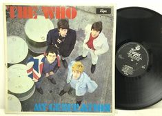 The Who - My Generation LP Vinyl Record Album A2/B1 UK MONO Original Pressing