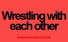 And she almost always wins.  I win when she lets me, cuz she loves me.  #lesbians