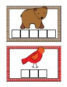 brownbearcard pdf, kinder skill, preschool idea, bear card, brown bear