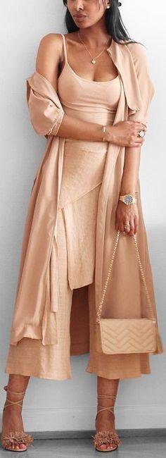 Nudes // Zara top& pants , Bohoo Jacket , Choies shoes //  Fashion Look by femmeblk