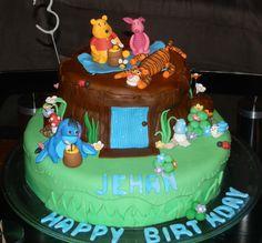 My son's third birthday cake