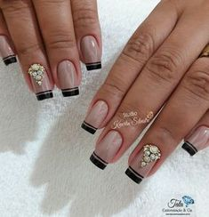 As 99 melhores unhas francesinhas decoradas por manicures do Brasil