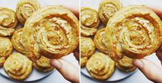 Chrumkavé syrové slimáčiky - Receptik.sk Ale, Muffin, Cookies, Breakfast, Desserts, Food, Kitchen, Biscuits, Morning Coffee