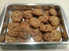 Oatmeal Raisin Cookies!