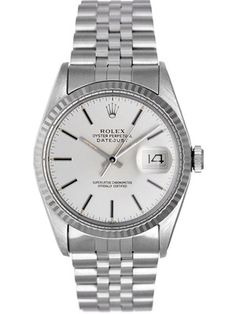 Rolex Oyster Date Just watch, Stainless Steel , from 36mm to 42mm in size, with fluted bezel, Presidential or Jubilee bracelet