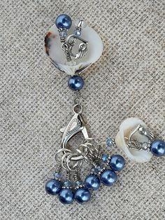Seashell Snag Free Beaded Stitch Markers Knit  set of 7 | Crafts, Needlecrafts & Yarn, Crocheting & Knitting | eBay!