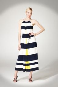 Got it in the mail today! LOVE!  Stripe Maxi Dress - Daytime at Maggy London