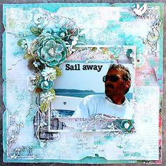 Sail away **Dusty Attic** - Scrapbook.com Kaisercraft - Secret Admirer Collection