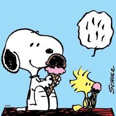 Ice cream is delicious.