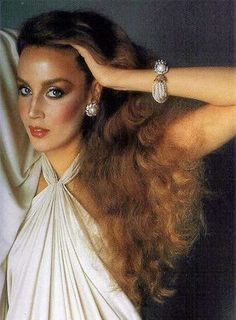 jerry hall- 70s glam