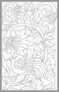 Jepara Floral Set vector drawing of jepara traditional floral set Created: GraphicsFilesIncluded: VectorEPS Layered: No MinimumAdobeCSVersion: CS Tags: blackandwhite Craft Patterns, Quilt Patterns, 3d Laser Printer, Molduras Vintage, Leather Tooling Patterns, Whole Cloth Quilts, Leather Carving, Free Motion Quilting, Colouring Pages