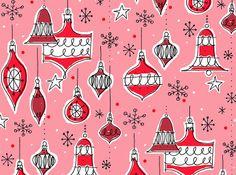Die Weihnachtsmärkte rufen schon... Vintage Xmas Ornaments by Alanna Cavanagh.