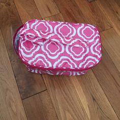 ☀️End of June weekend SALE! ☀️ Pink deep makeup bag! Great for storage or toiletries! Buckhead Betties Bags Cosmetic Bags & Cases