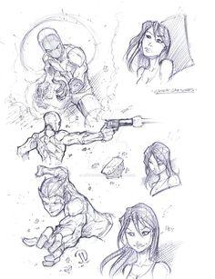 Fun Quick sketches by JoeyVazquez on DeviantArt