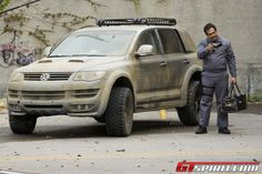 @CarUniv Volkswagen Touareg from Repo Men Movie - Pictures, Videos and Games