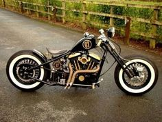 Harley | Bobber Inspiration - Bobbers and Custom Motorcycles | motorcycles-and-more October 2014
