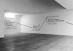 Atelier Martino&Jaña - José de Guimarães International Arts Centre, Wayfinding.