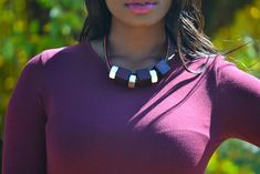 Maroon yde dress is perfect for going out, business, work fucntions. Maroon Dress, Burgundy Dress, Chic Outfits, Fashion Outfits, Chic Clothing, Neck Piece, Outfit Of The Day, Beautiful Dresses, Turquoise Necklace