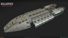 We had the pleasure of doing many spaceships of the Battlestart Galactica Deadlock strategy game.