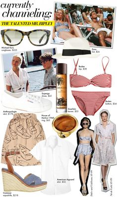 Who What Wear is currently channeling the style of The Talented Mr. Ripley!