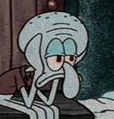 Cartoon Wallpaper Iphone, Sad Wallpaper, Cute Cartoon Wallpapers, Cartoon Icons, Cartoon Memes, Cartoons, Goodnight Cute, Spongebob Drawings, Instagram Cartoon