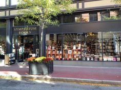 Book lovers should add Symposium Books in Providence, RI, to their travel wish list. It carries an array of of vintage classics and also houses a small record shop.