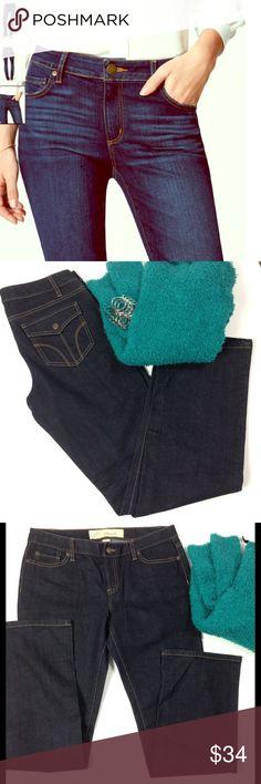 "Ann Taylor ⚜ Slim Fit Boot Cut Dark Wash Jeans Dark Wash, Length 32 1/2"", Waist 34"", Front Rise 9', Back Rise 14"", 99% Cotton, 1 % Spandex, NWOT, Never Worn Ann Taylor Jeans Boot Cut"