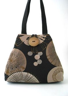womens handbags black shoulder bag purse with pockets  purseswithpockets  Black Shoulder Bag, Fabric Handbags 91fc7d8ac7