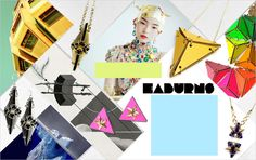 Geometric shapes on Boticca - Art deco jewelry to perspex cuffs: we look to geometric pieces